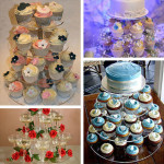 Hot-Brand-New-Assemble-and-Disassemble-Round-Acrylic-4-Tier-Cupcake-Cake-Stand-For-Birthday-Wedding